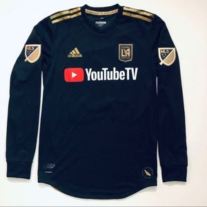 LAFC Authentic Long-Sleeve Vela Jersey | NWT